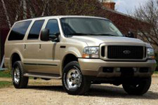 Ford Excursion 5.4L SOHC Triton V8 Limited 4x2